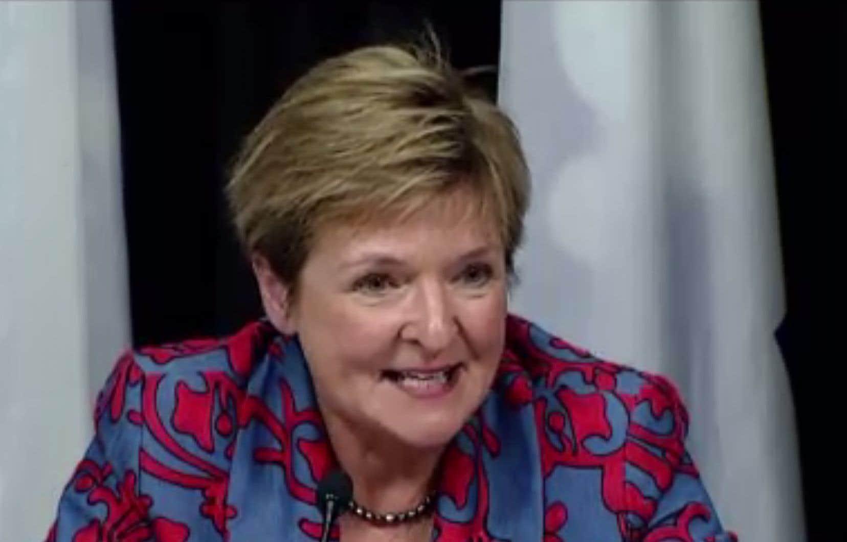 La vérificatrice générale du Québec, Guylaine Leclerc