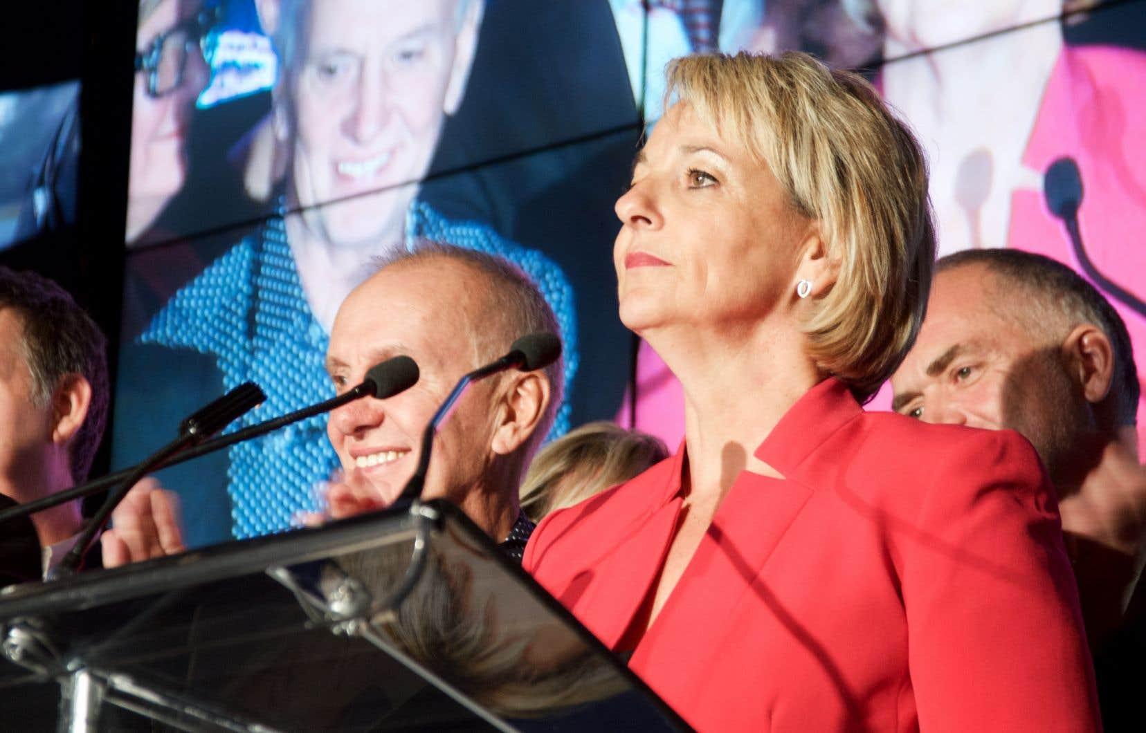 La mairesse de Longueuil, Sylvie Parent