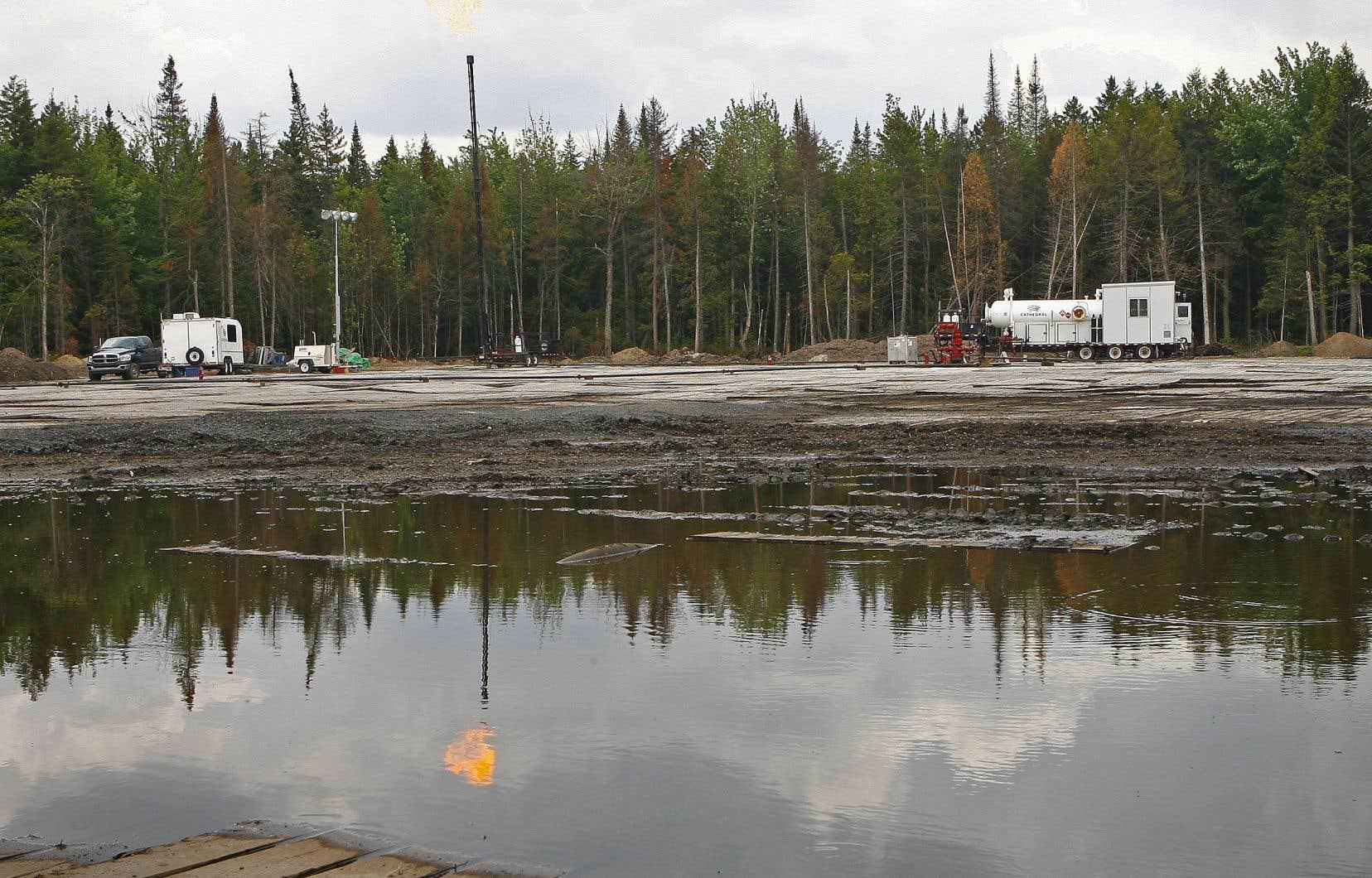 Le gouvernement du Québec a décidé d'interdire la fracturation hydraulique sur tout le territoire qui renfermerait un potentiel de gaz de schiste.