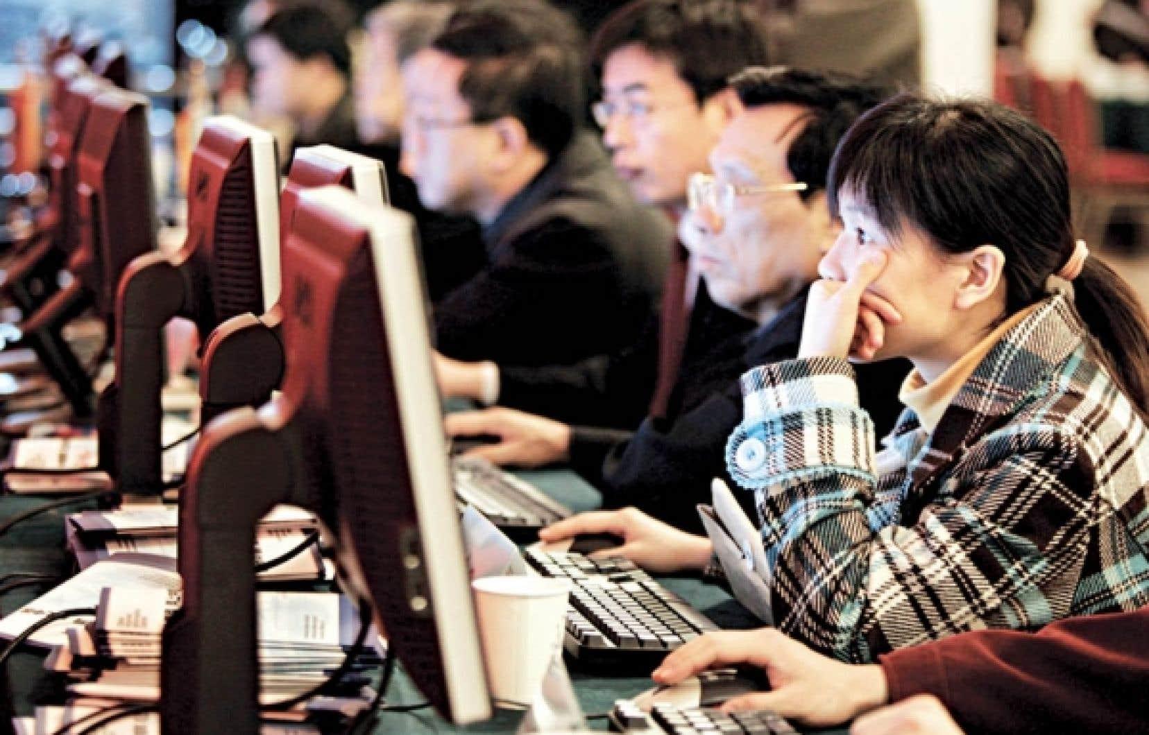 Le gouvernement chinois craint que ses secrets soient diffusés sur la Toile.