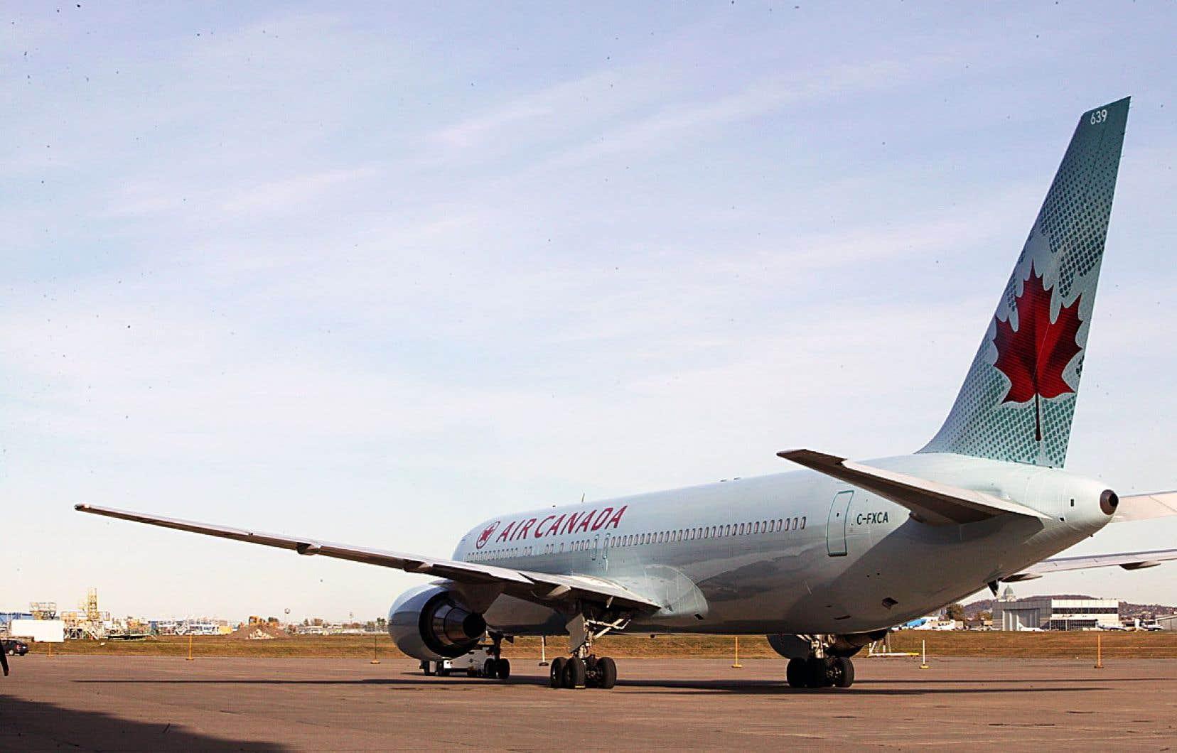 Le transporteur aérien a créé un partenariat avec la Banque CIBC, la TD et Visa.