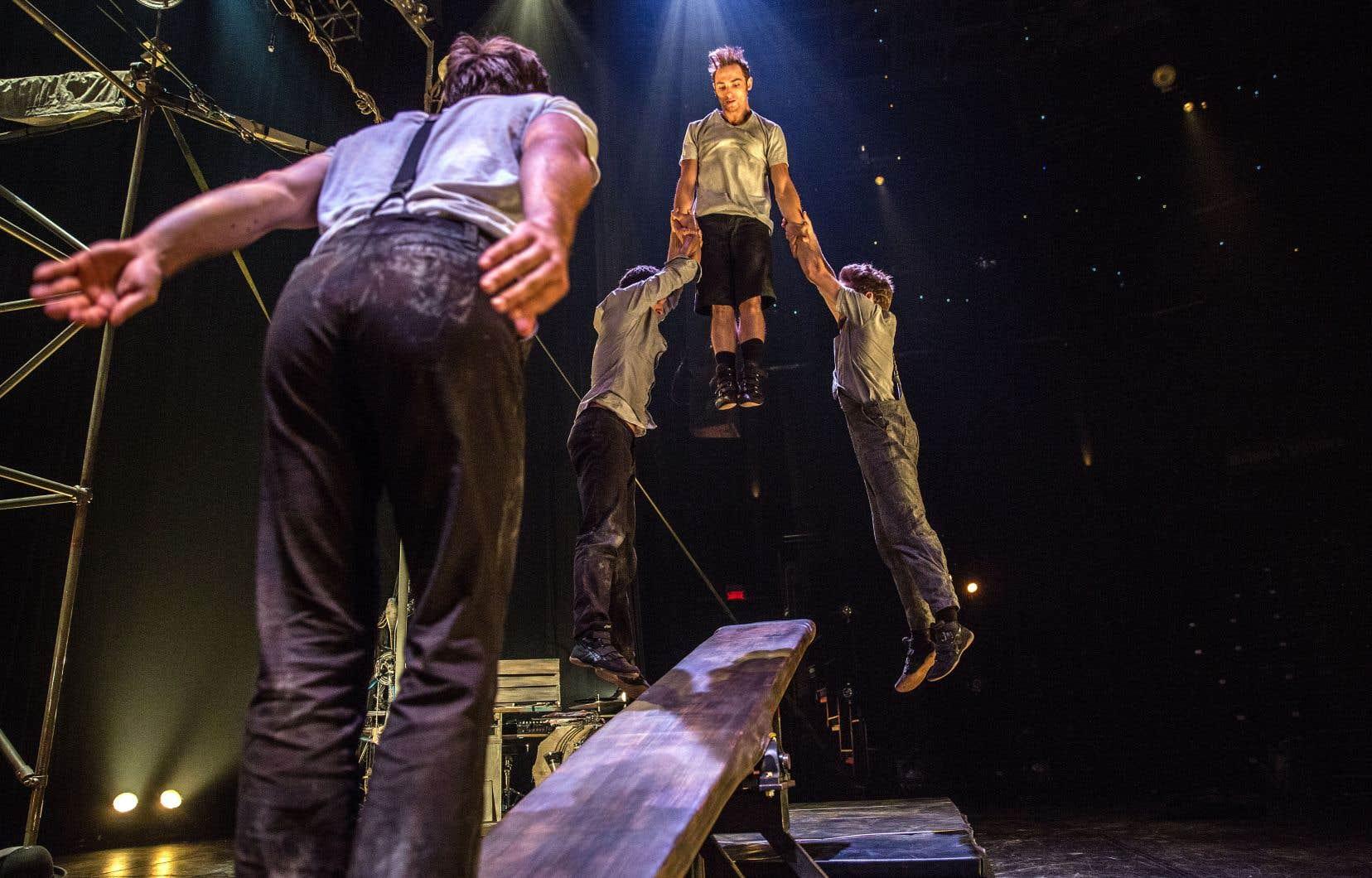 La bien huilée Machine de cirque