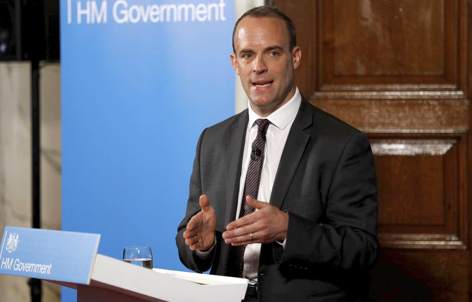 Le ministre britannique chargé du Brexit, Dominic Raab, juge improbable une absence d'accord entre Londres et l'UE.