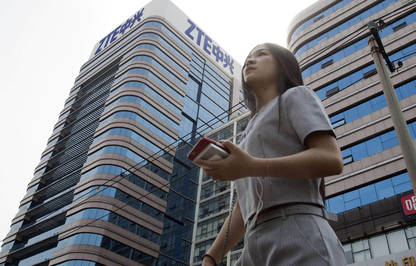 L'Australie estime que des sociétés liées à des gouvernements étrangers, comme ZTE ou Huawei, présentent un risque pour sa sécurité.