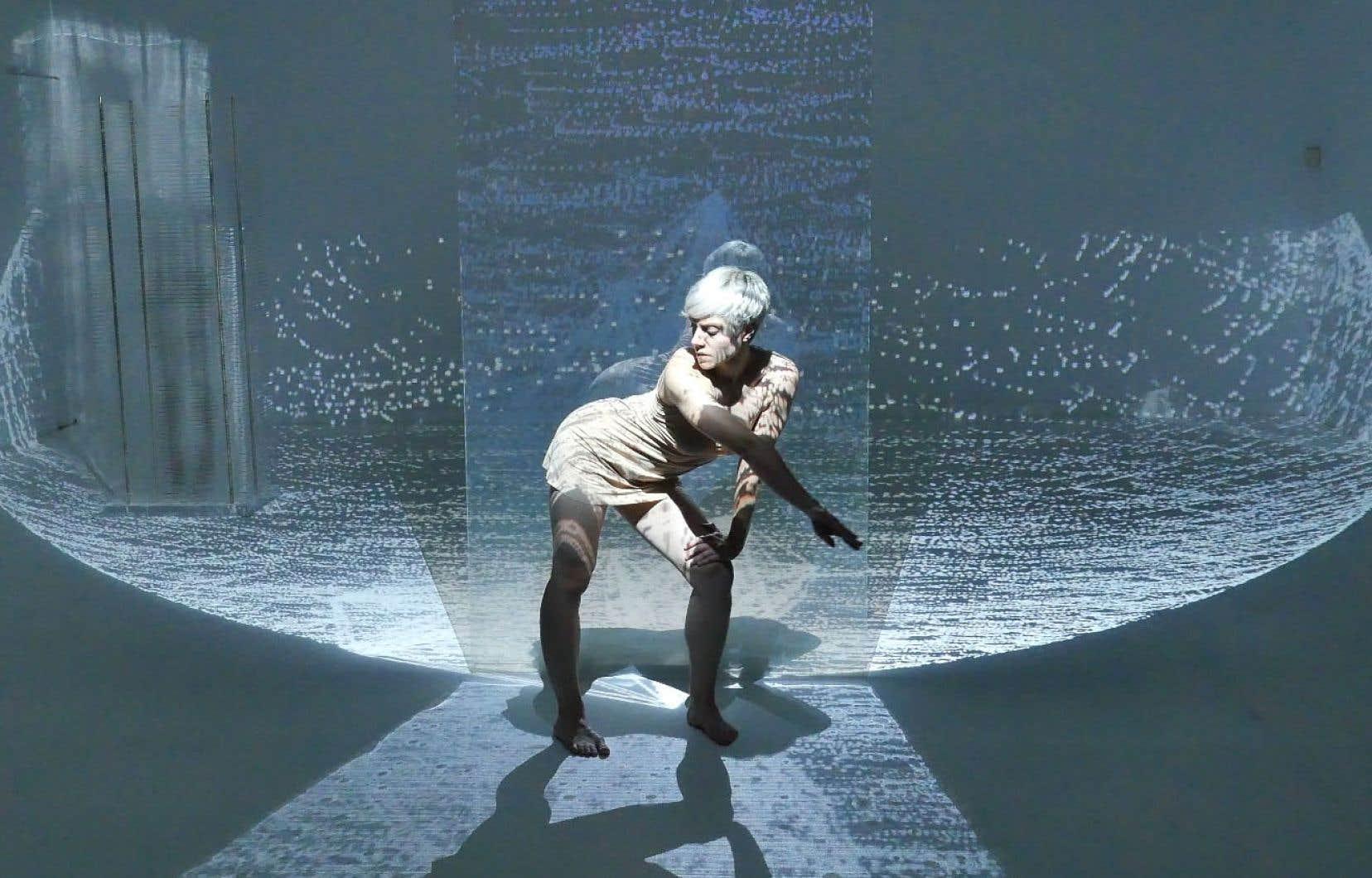 Dans «Eve 2050», installation-performance d'Isabelle Van Grimde, des caméras infrarouges capteront des images pour en permettre une rediffusion en temps réel.