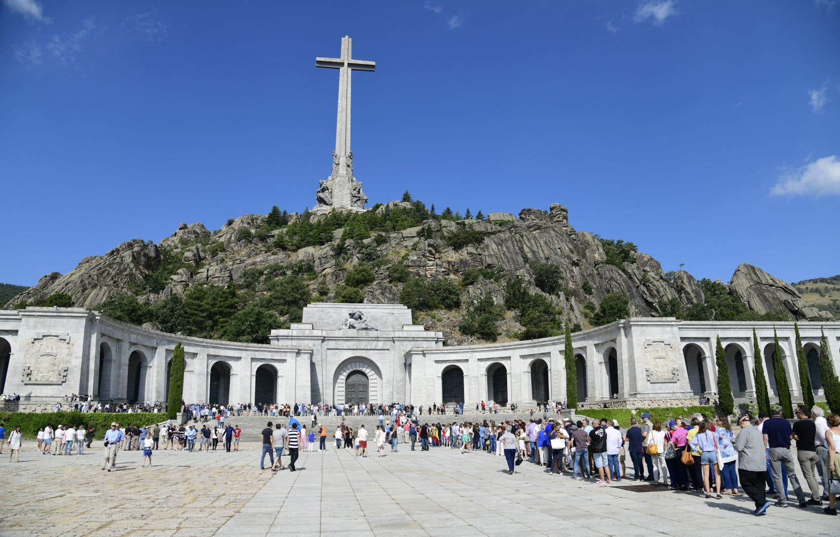 Le général Franco repose dansla basilique de la Valle de los Caídos, à Madrid.