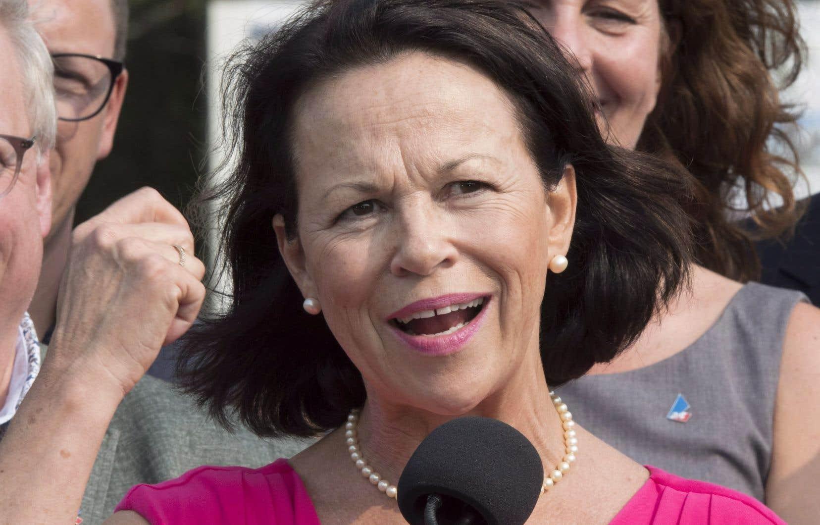 L'ex-p.-d.g. du CHU de Québec, Gertrude Bourdon