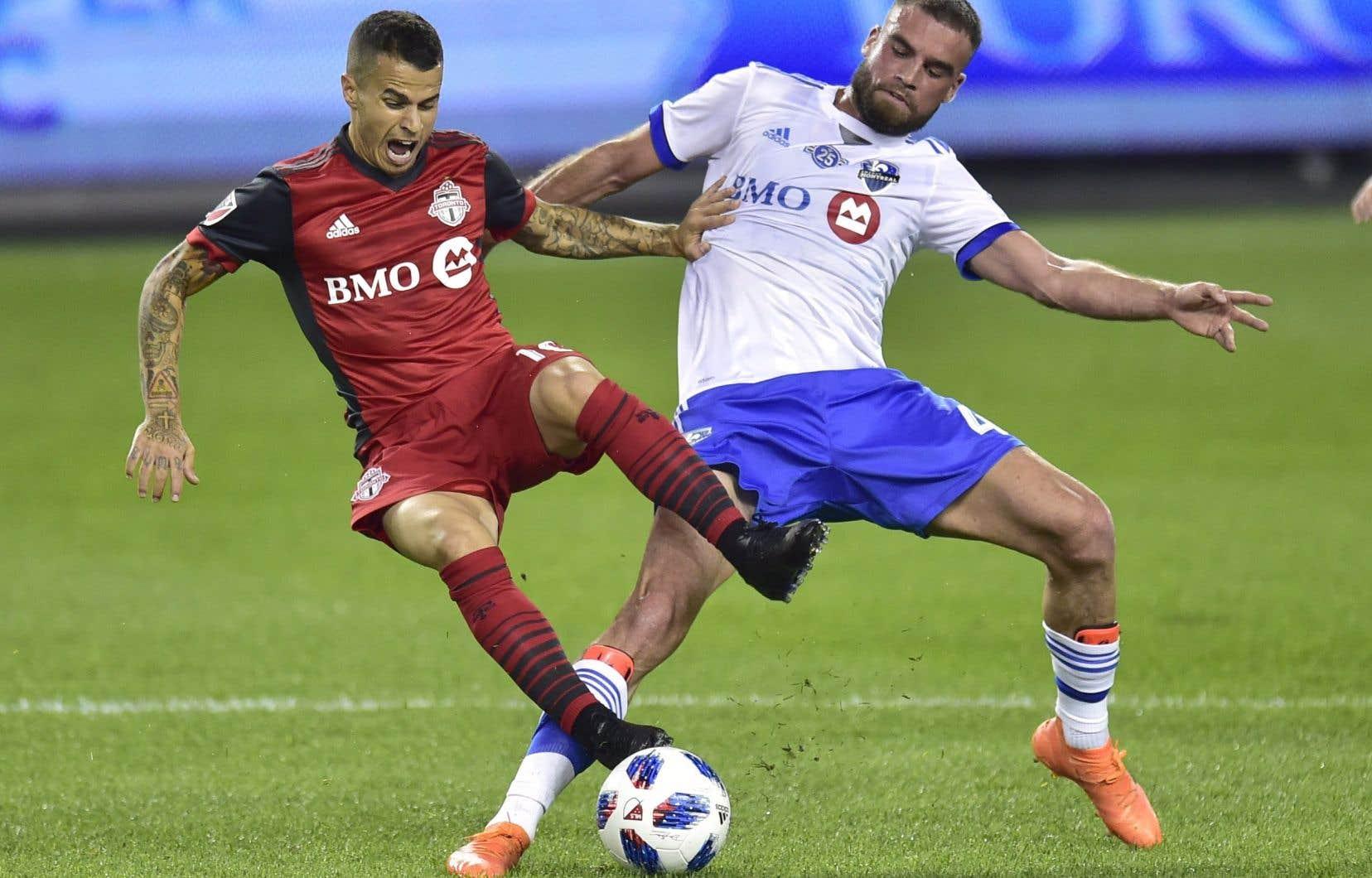 Deux buts de Sebastian Giovinco tôt dans le match ont rapidement coulé l'Impact de Montréal.