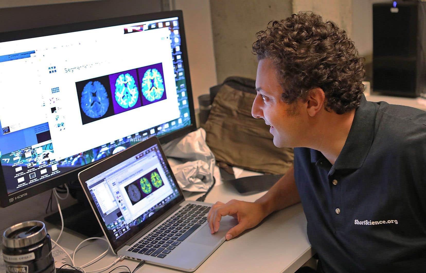 Joseph Paul Cohen fait partie d'un groupe d'une dizaine d'étudiants et de chercheurs du MILA qui s'intéresse au domaine médical.