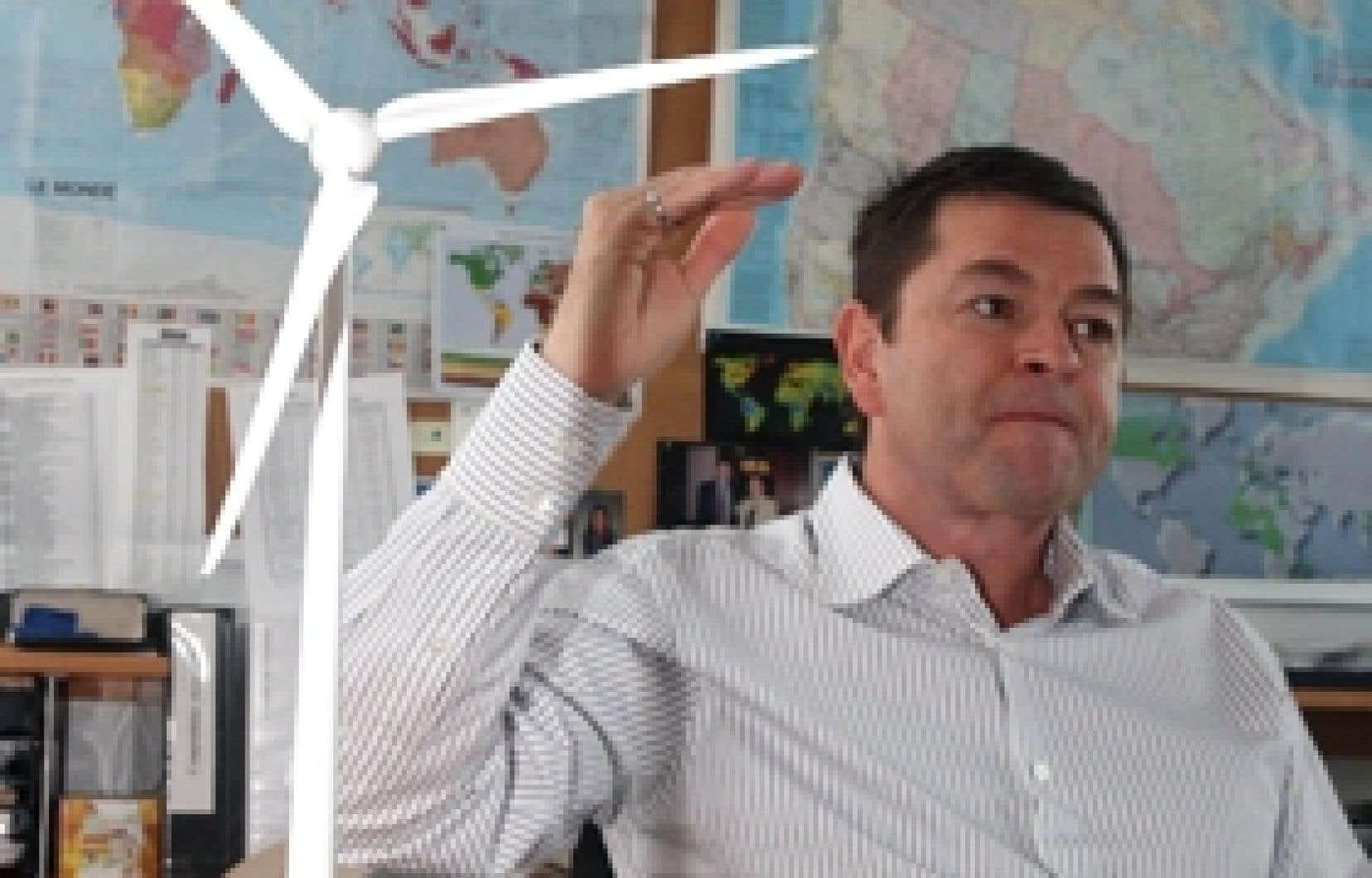 Richard Legault, président d'Hélimax Énergie