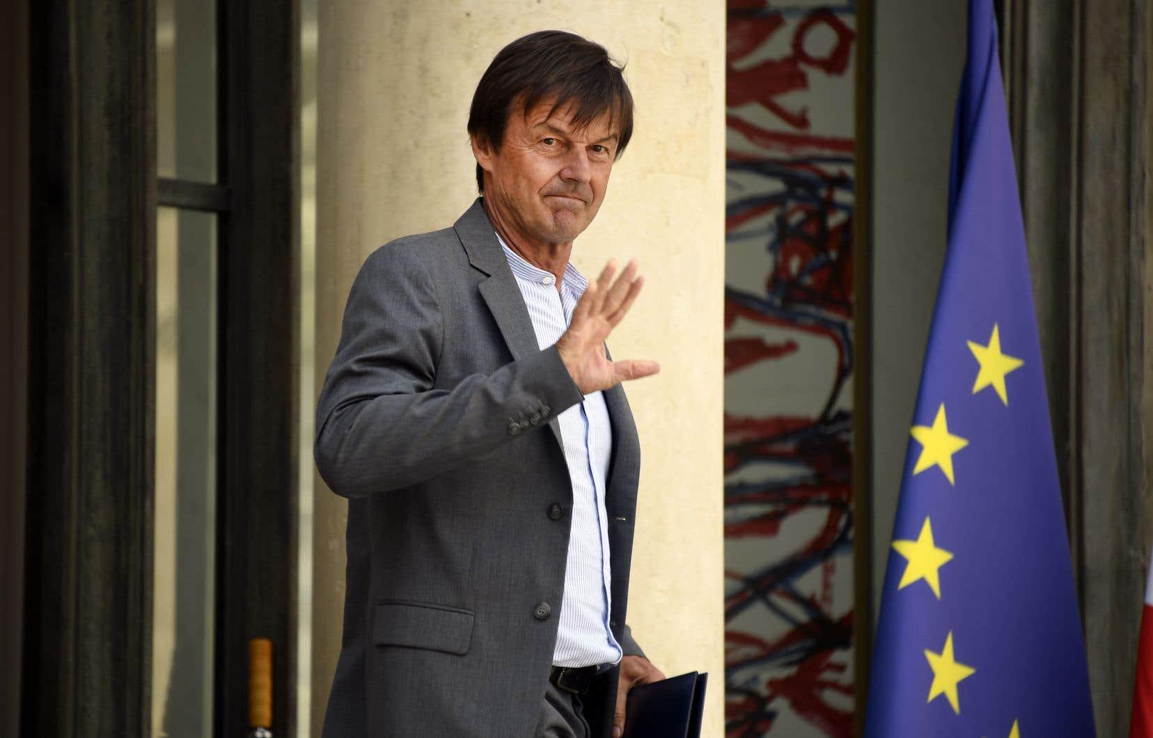 Le ministre français de la Transition écologique a pris tout le monde par surprise en annonçant son retrait de la vie politique.