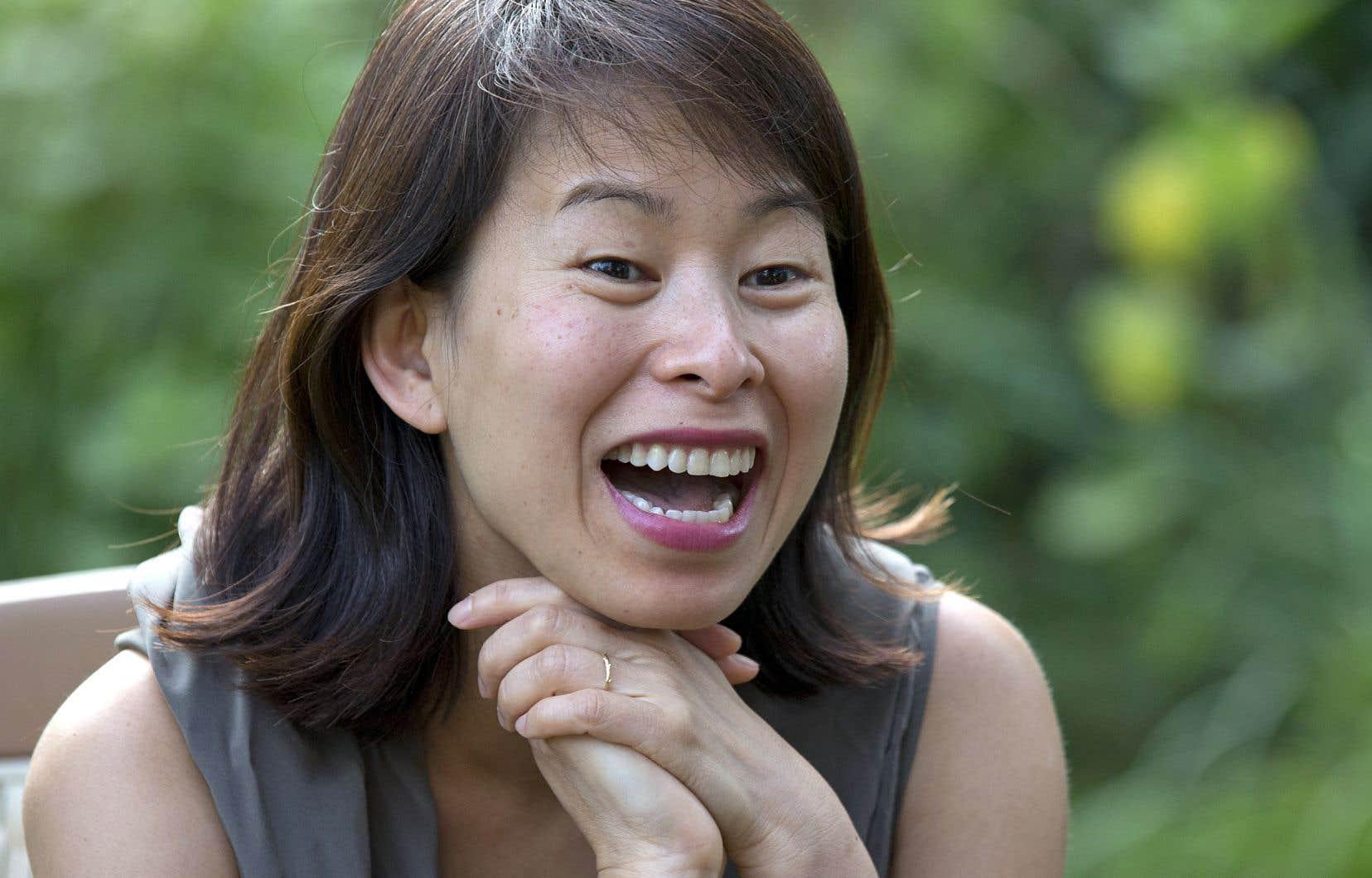 L'auteure Kim Thúy en 2014
