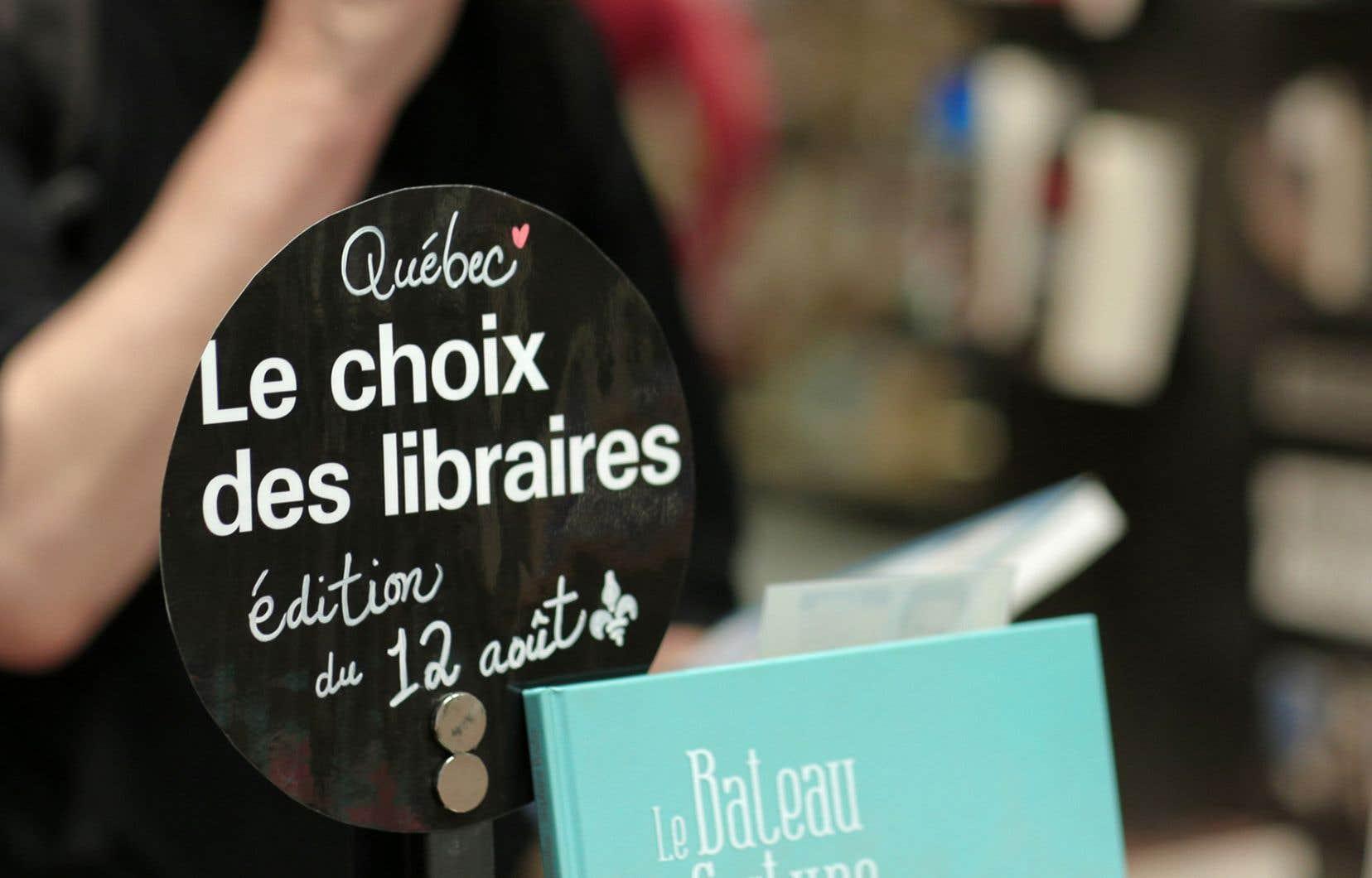 Lors de la cinquième édition de la journée «le 12 août, j'achète un livre québécois», les ventes de fiction québécoise ont été multipliées par quatre dans les librairies indépendantes.