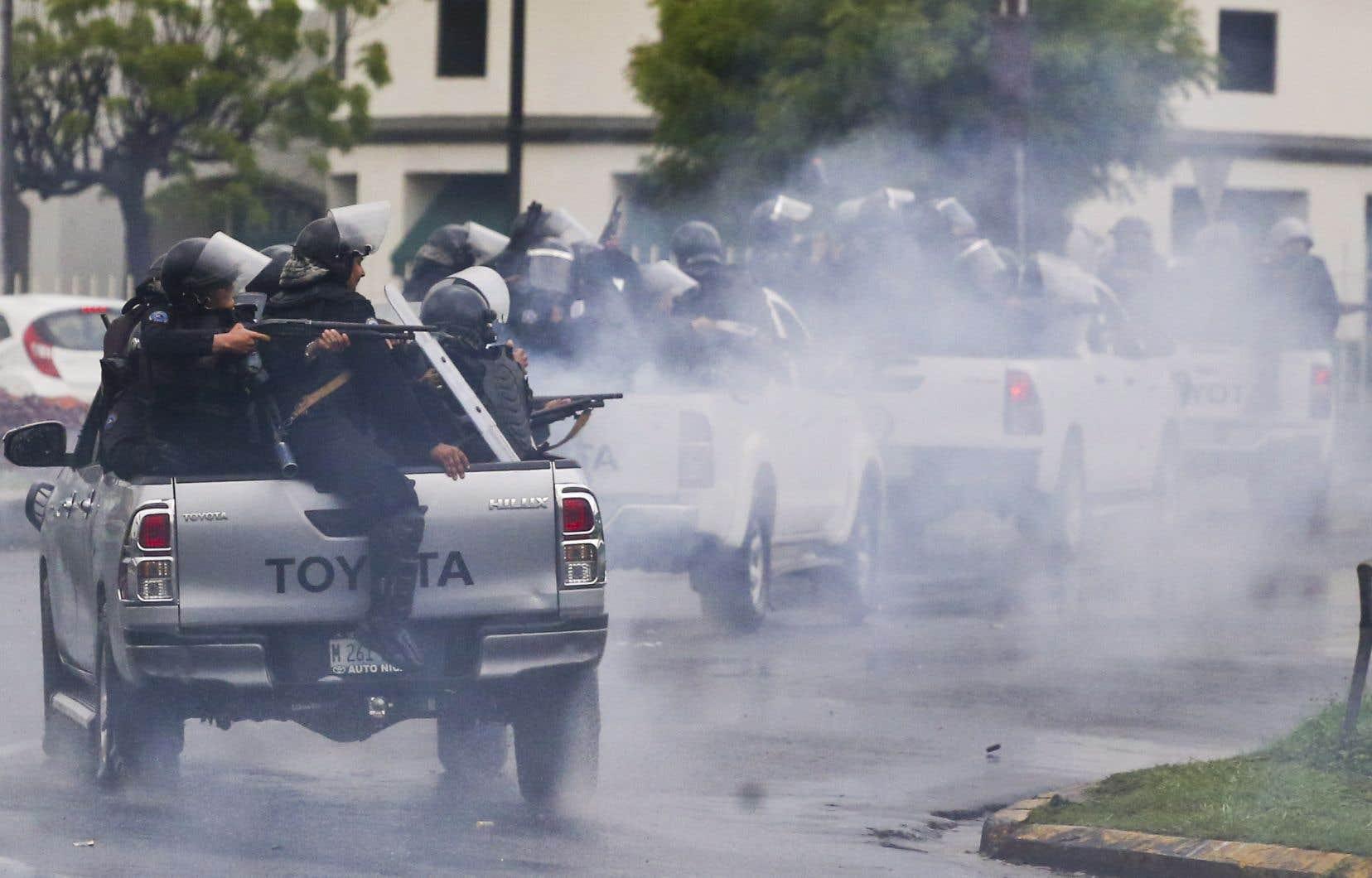 Les protestations se poursuivent, mais elles sont de moindre ampleur depuis que les dirigeants étudiants ont été arrêtés ou forcés à se cacher ou à s'exiler.