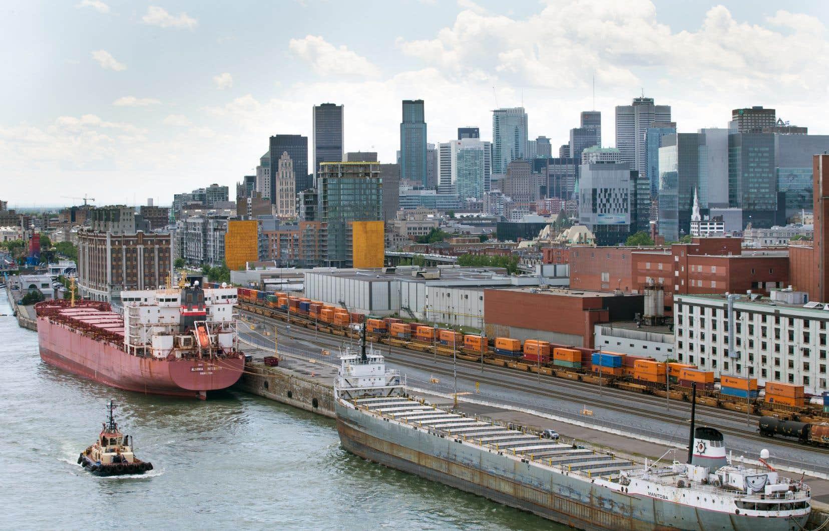 Le Port de Montréal a un «avenir prometteur», selon l'auteur.