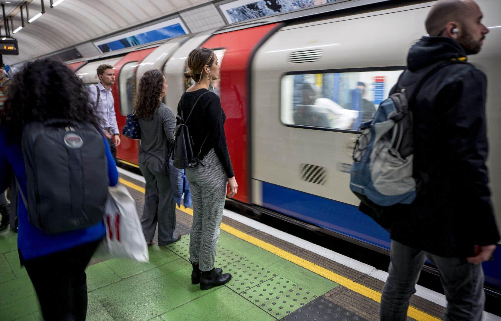 La Elizabeth Line devrait être utilisée par 200millions de voyageurs par an.