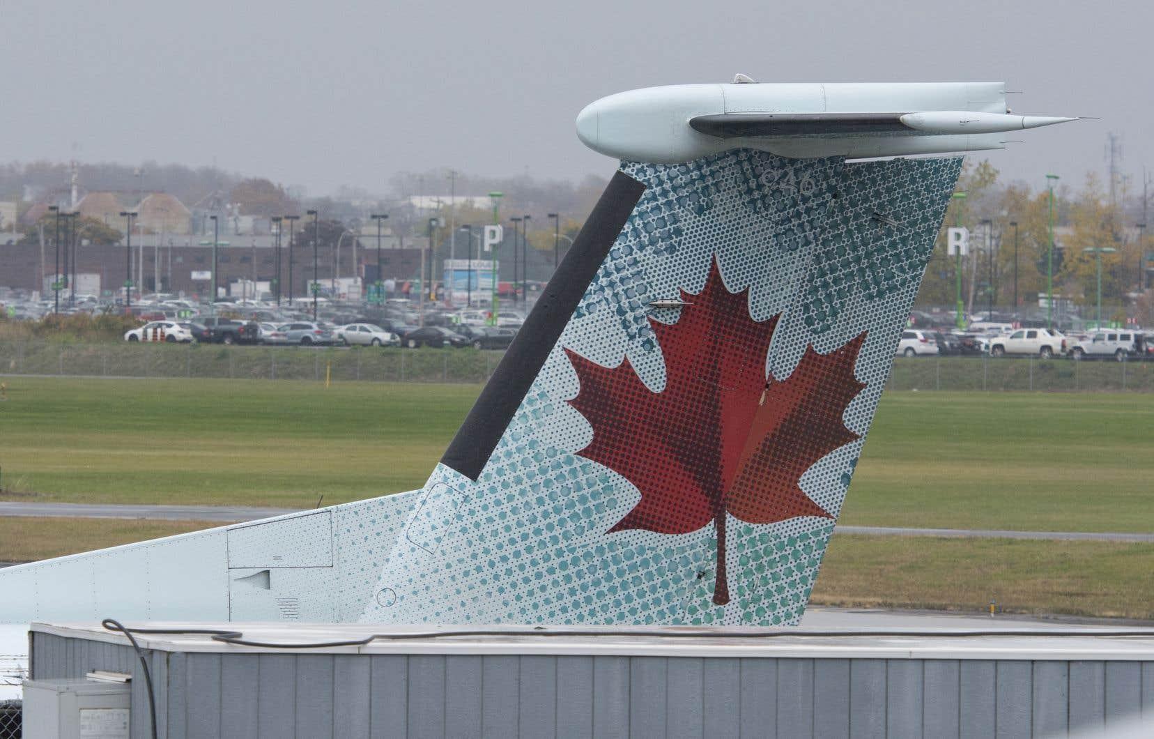Le transporteur Air Canada dessert actuellement 67% des destinations en région<br /> .