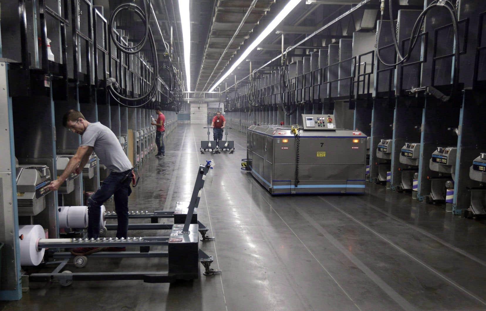 Jusqu'à 15% des emplois pourraient être perdus à cause de l'automatisation au cours des deux prochaines décennies.