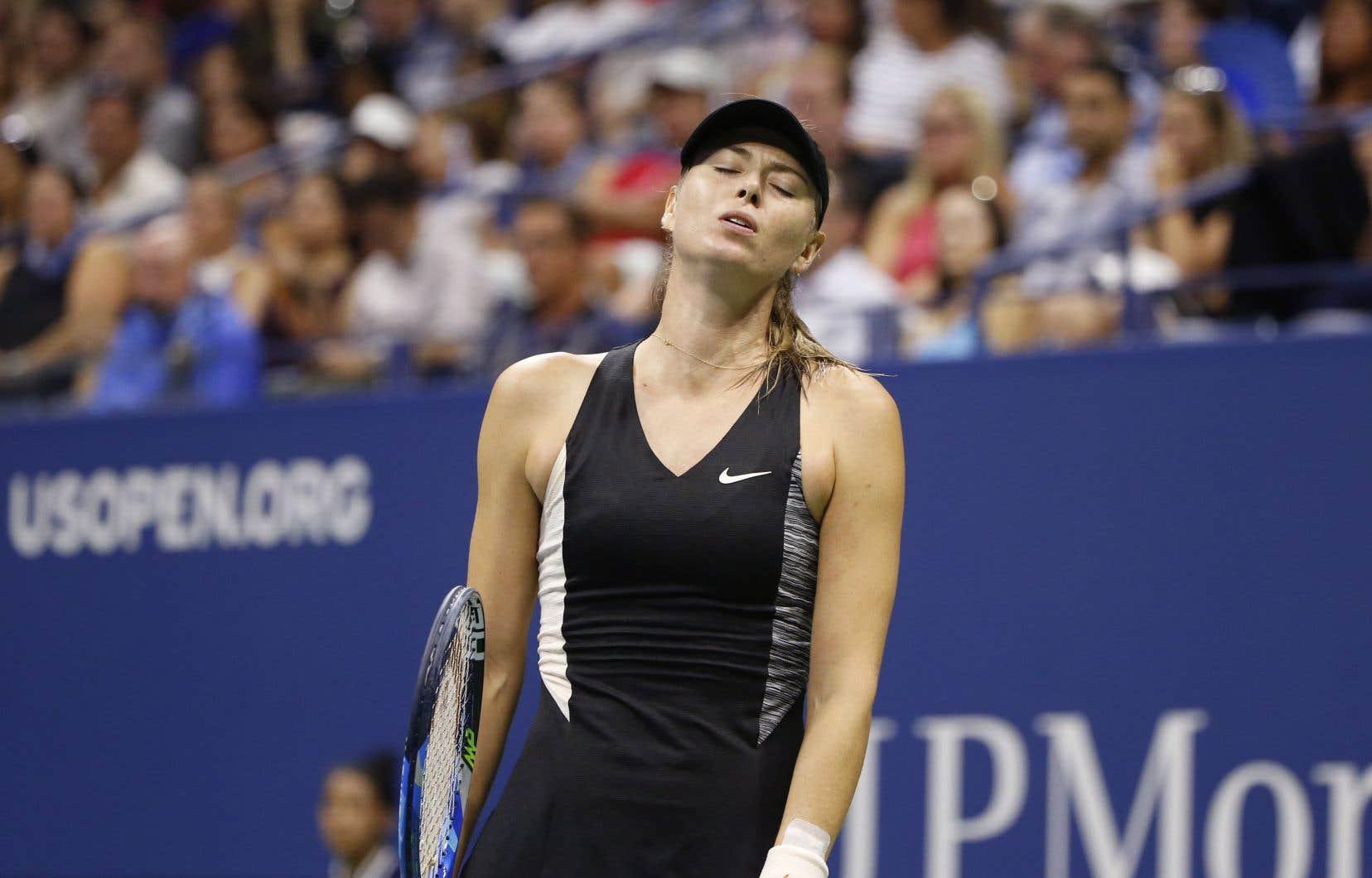 Depuis son retour de quinze mois de suspension pour dopage au printemps 2017, Sharapova n'a plus dépassé les quarts de finale en tournoi majeur.