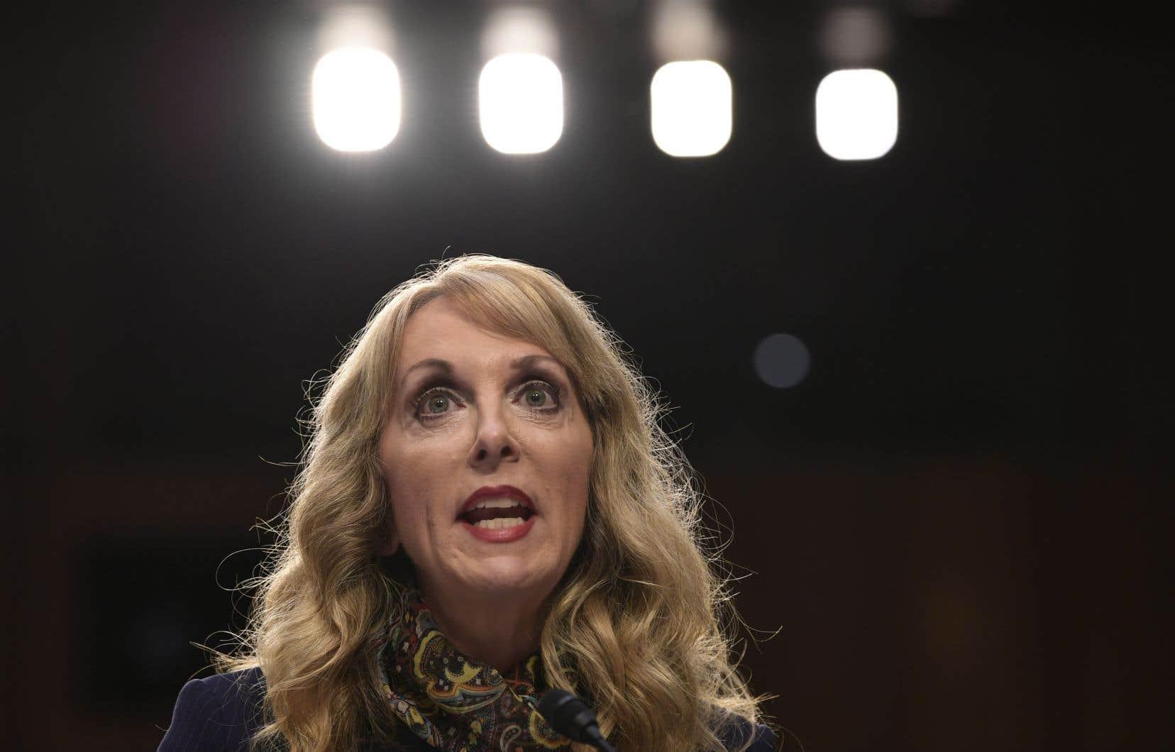 La directrice générale de la Fédération américaine de gymnastique, Kerry Perry