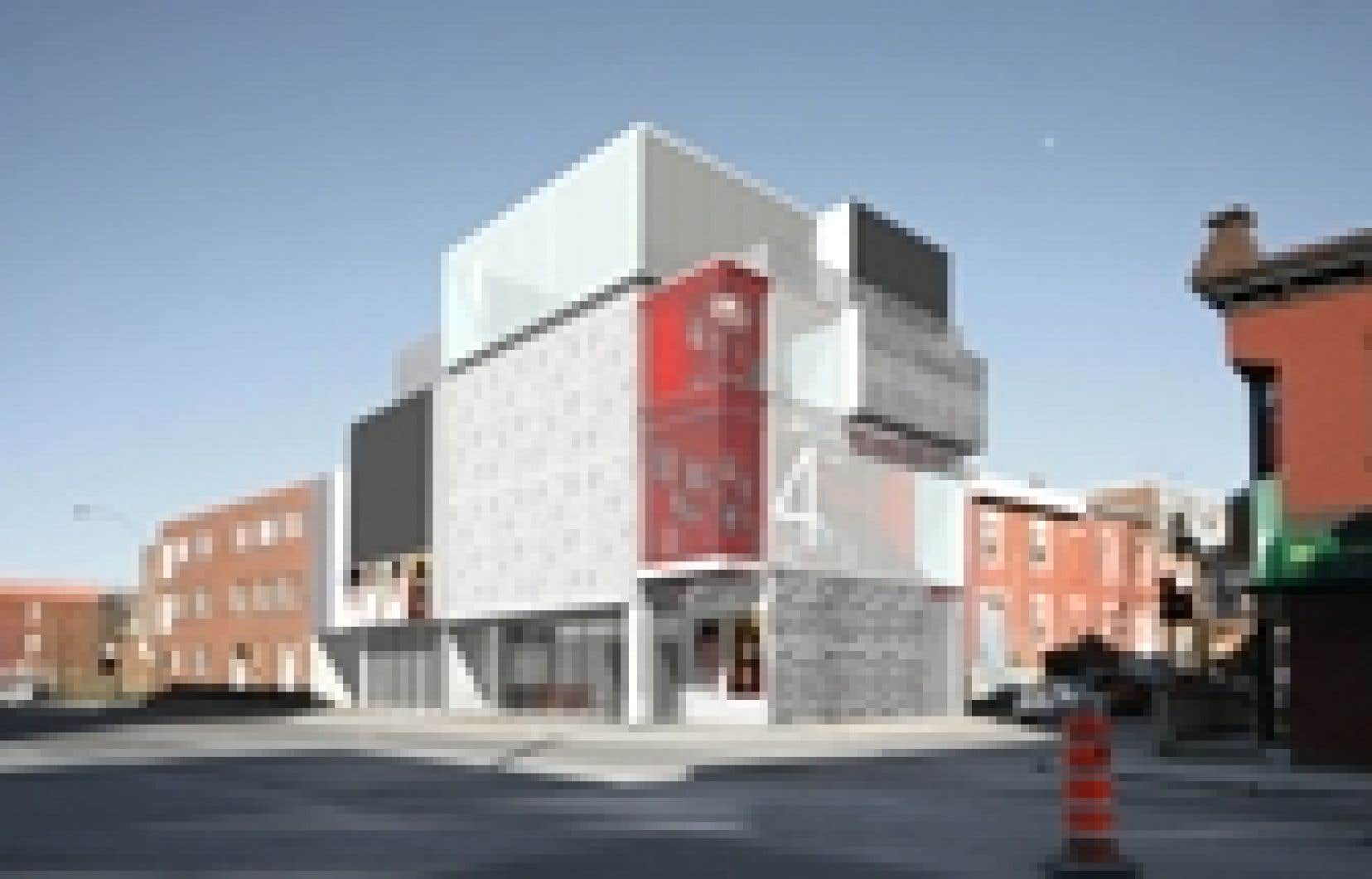 Le futur Théâtre de Quat'Sous, à Montréal.