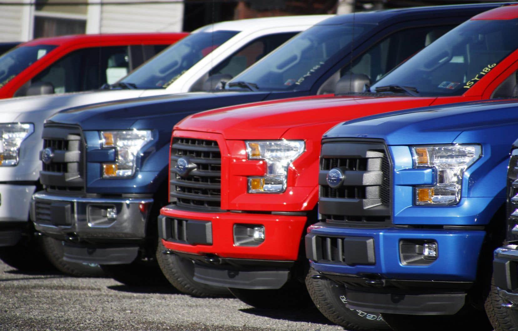 La camionnette F-150 est le véhicule le plus vendu aux États-Unis.