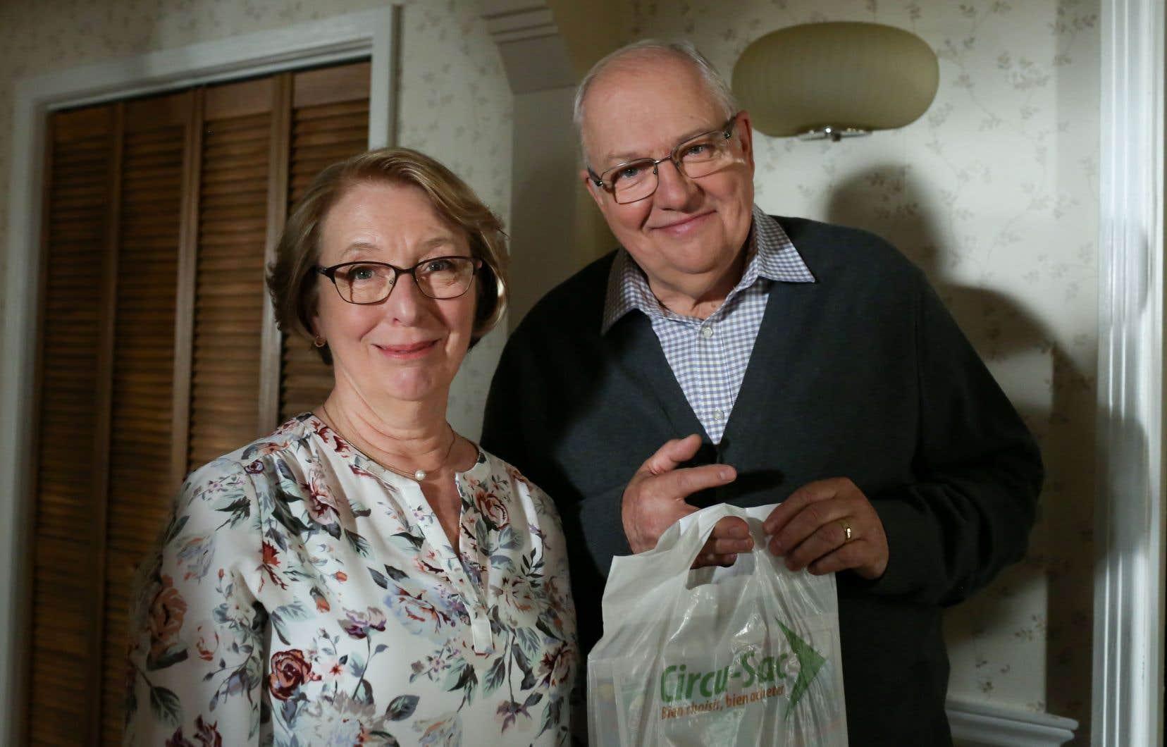 Marie-Ginette Guay et Vincent Bilodeau