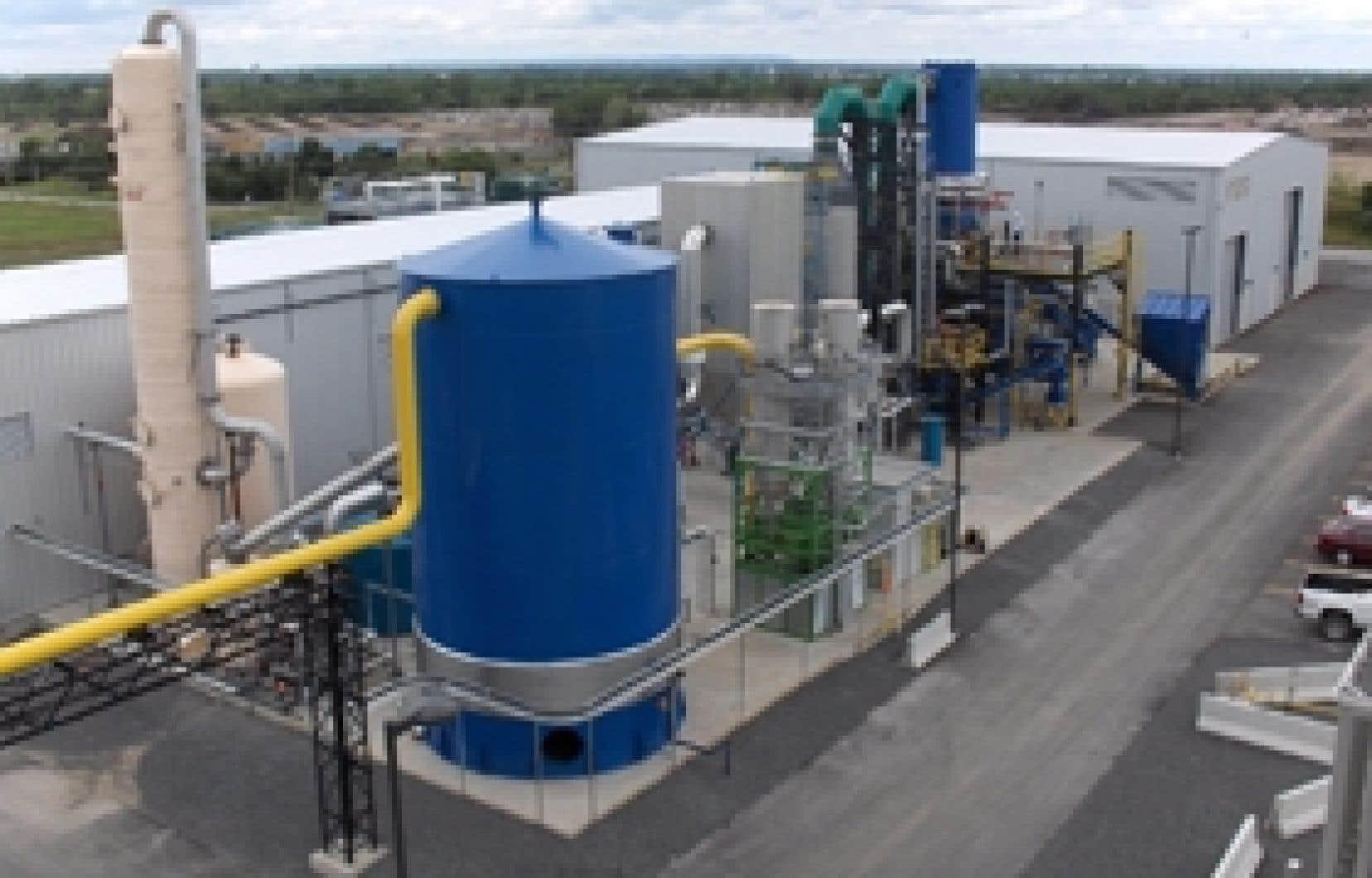 L'usine de Plasco Energy Group à Ottawa