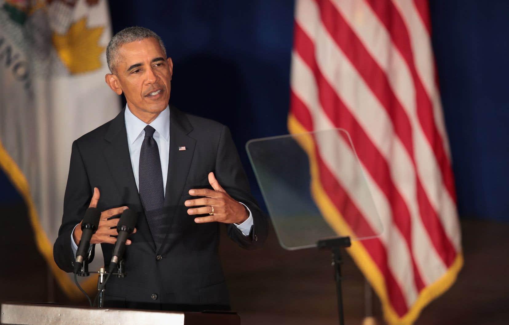 Relativement discret depuis son départ de la Maison-Blanche, Barack Obama a clairement l'intention de s'impliquer dans la campagne pour soutenir les démocrates pour les élections législatives à venir.