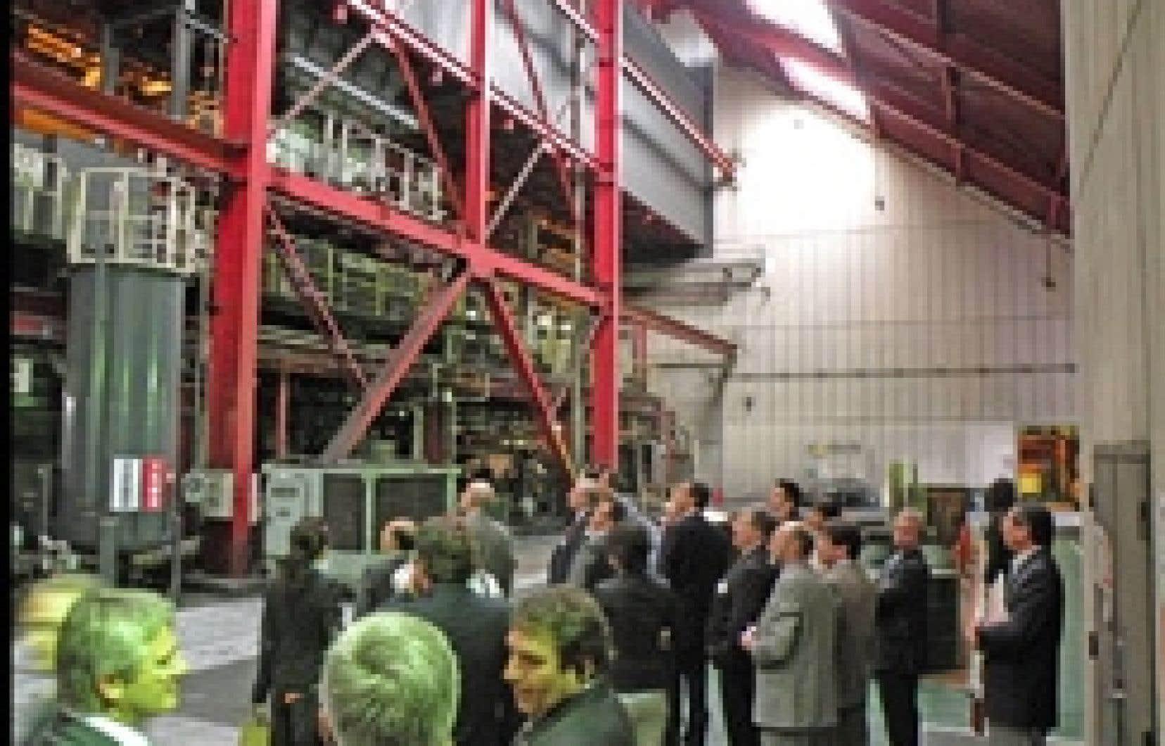 Une mission de maires du Québec s'est rendue en visite à l'usine Thermoselect de Chiba, au Japon, en juin dernier, pour explorer les solutions technologiques de traitement des matières résiduelles.