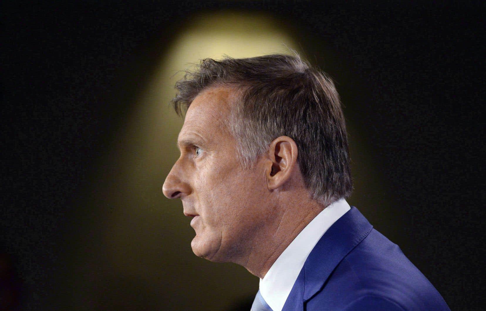 Dans une conférence de presse, le 23 août dernier, à Ottawa, Maxime Bernier avait annoncé qu'il quittait le Parti conservateur pour en fonder un nouveau.