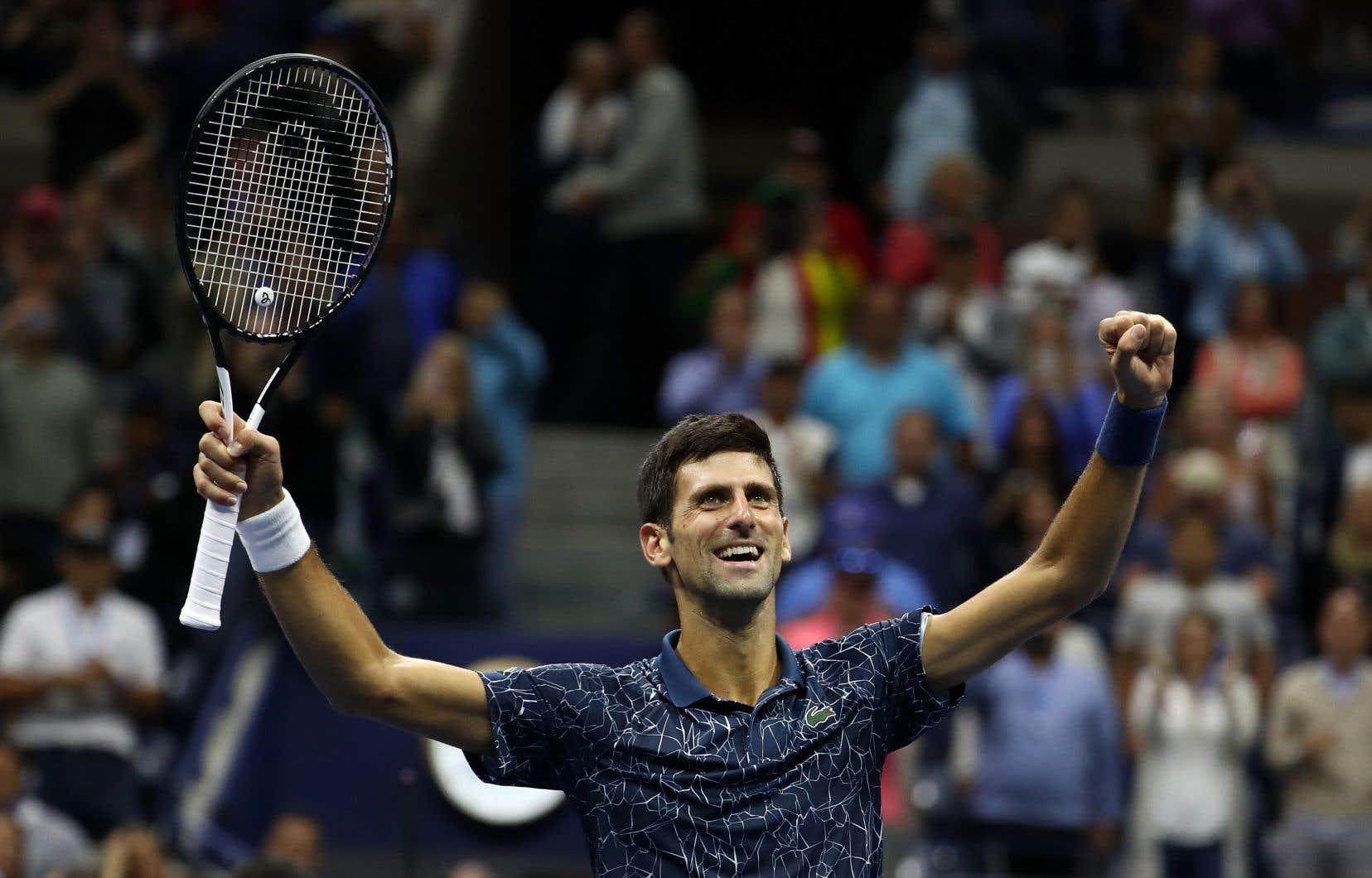 Deux mois à peine après son sacre à Wimbledon, Novak Djokovic a remporté la finale des Internationaux de tennis des États-Unis.