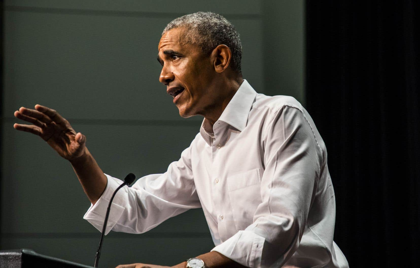 Le président des États-Unis, Donald Trump, ne cesse de louer son bilan économique, ce qui a fait réagir l'ex-président Barack Obama.