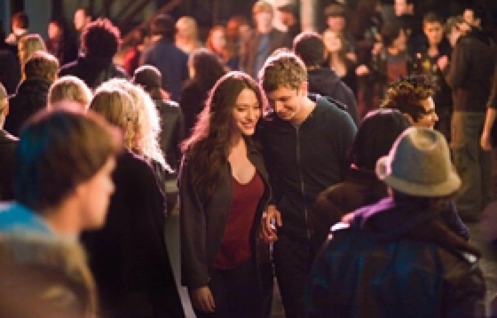 Kat Dennings et Michael Cera dans Nick and Norah's Infinite Playlist