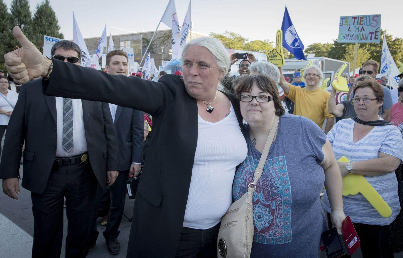 «Les scientifiques le hurlent depuis des années et l'heure est à des changements de cap radicaux», a dit Manon Massé, porte-parole de Québec solidaire.