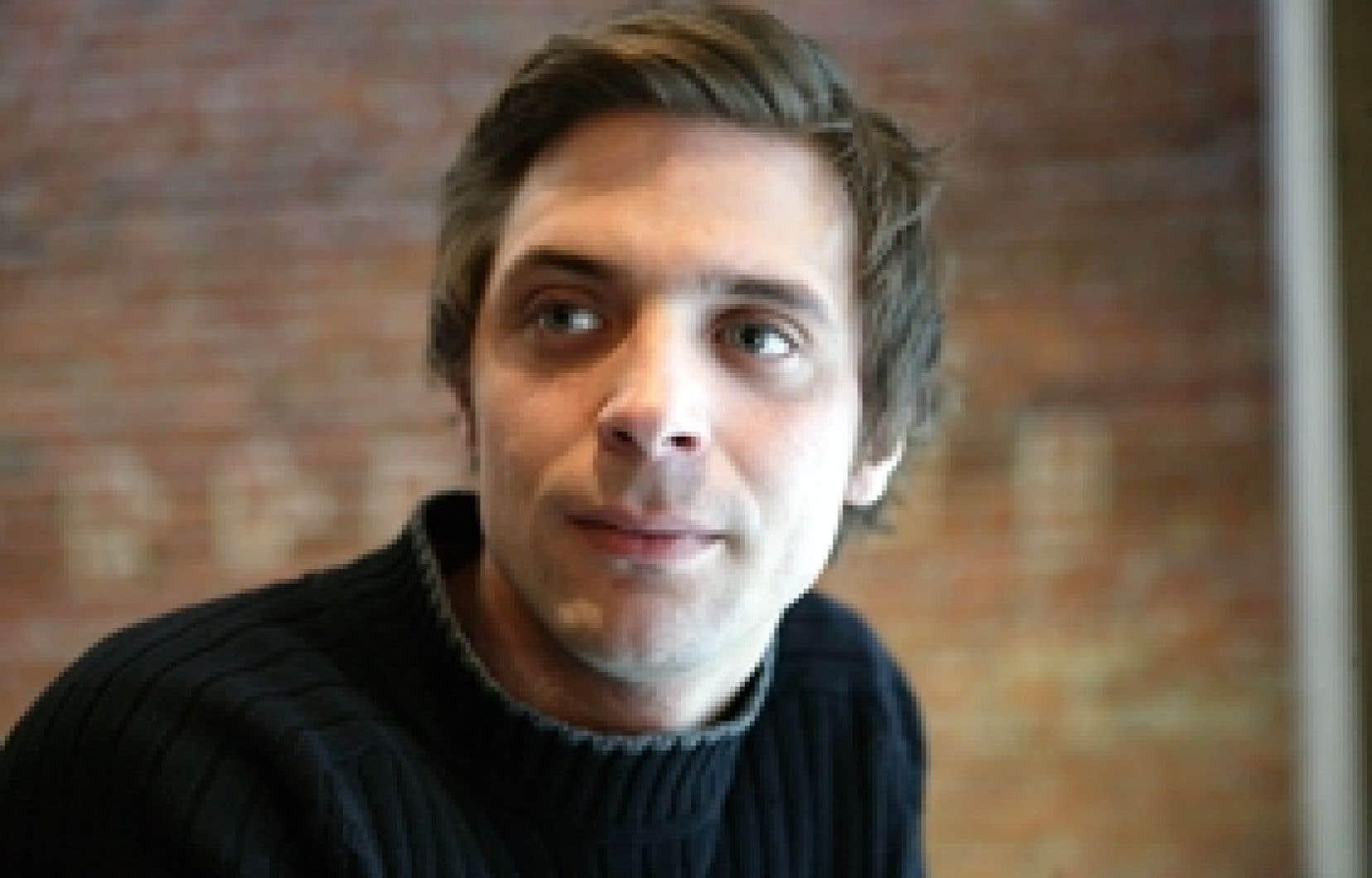 Le metteur en scène Christian Lapointe