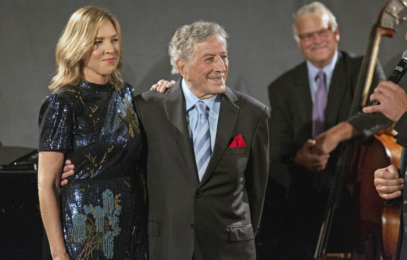 Tony Bennett et Diana Krall célèbrent leur amour partagé pour la musique d'un autre duo iconique, George et Ira Gershwin.
