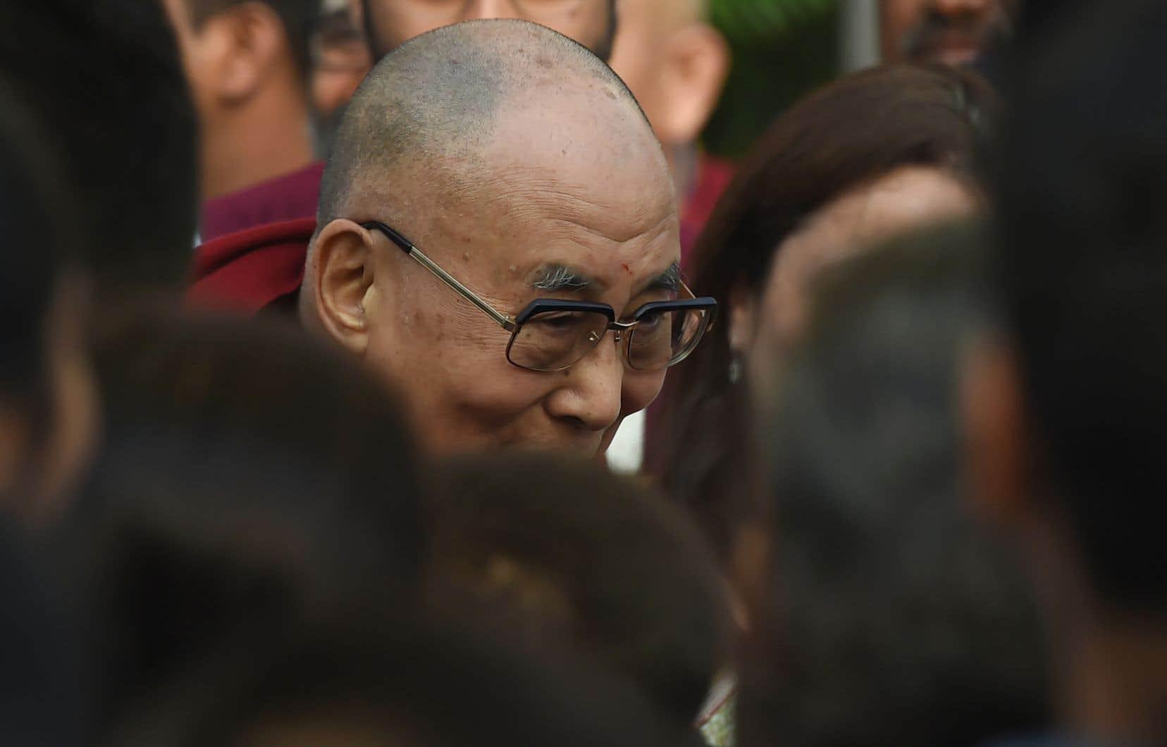 Le Dalaï Lama effectuait une visite de quatre jours aux Pays-Bas.