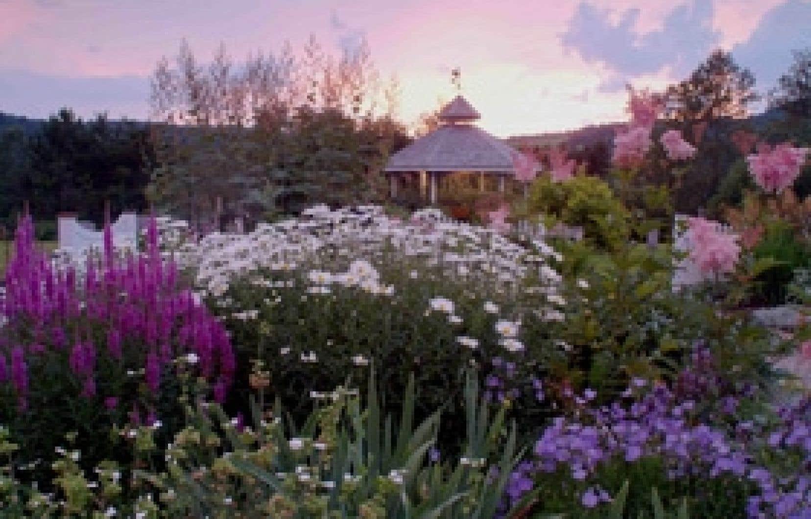 Un jardin de Saint-Venant-de-Paquette