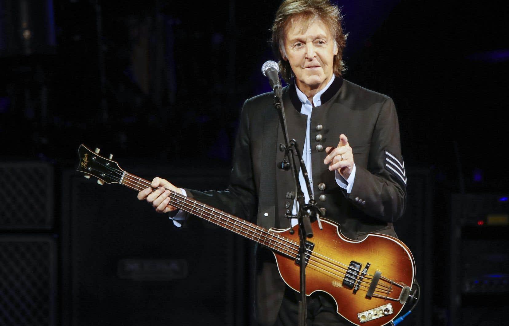 Paul McCartney vient de prendre la tête du classement de référence des ventes d'album aux États-Unis, le Billboard.