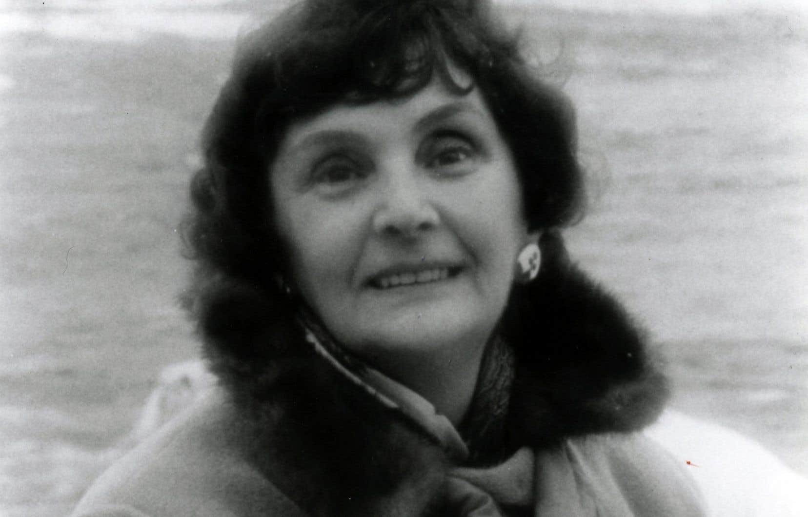 Simonne Monet Chartrand, en 1996