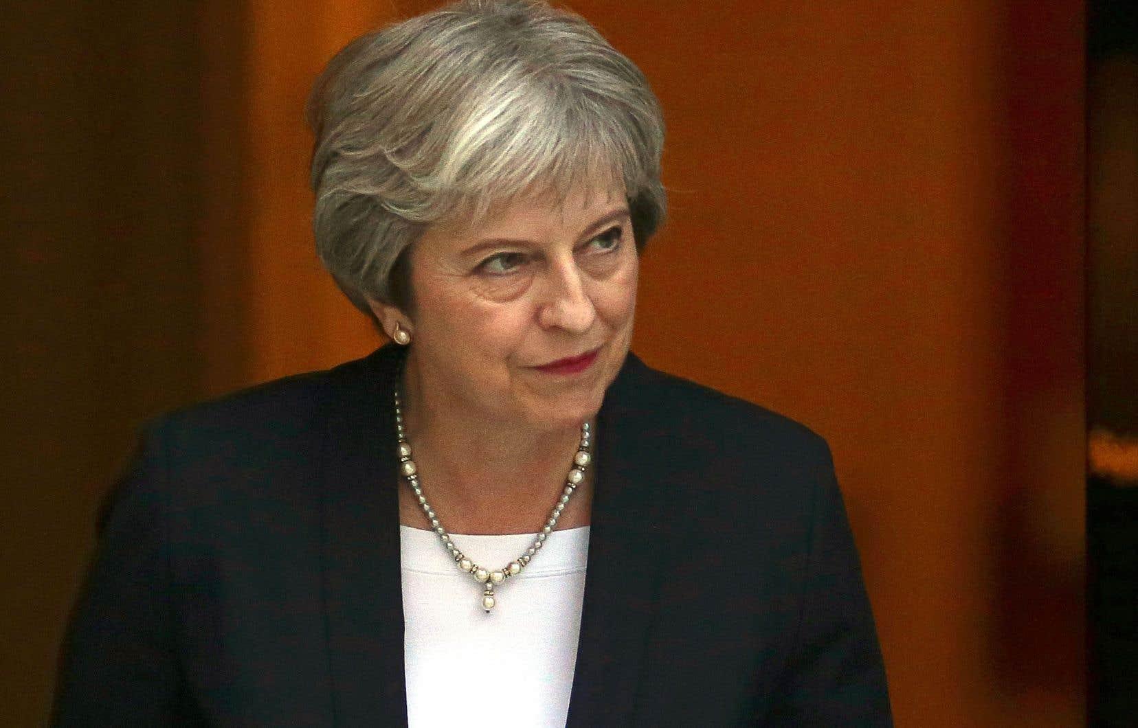 Theresa May propose le maintien d'une relation commerciale étroite avec l'Union européenne après le divorce, prévu le 29mars.