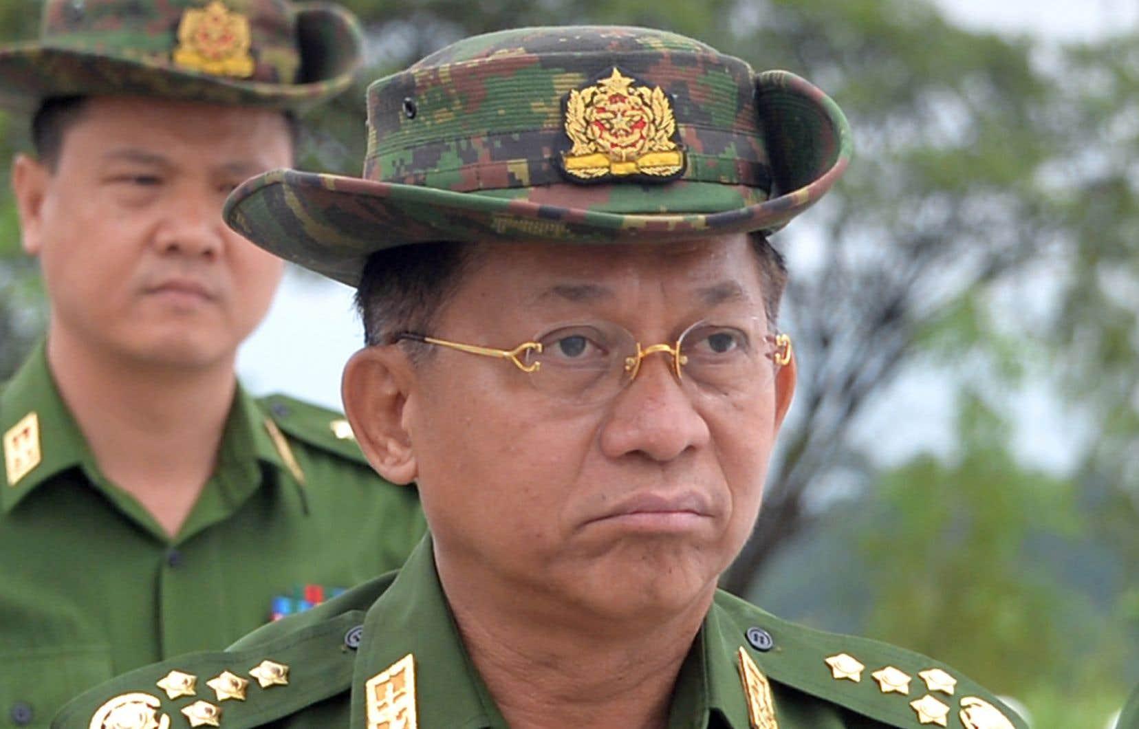 La mission de l'ONU demande le limogeage du commandant en chef de l'armée myanmaraise, Min Aung Hlaing.