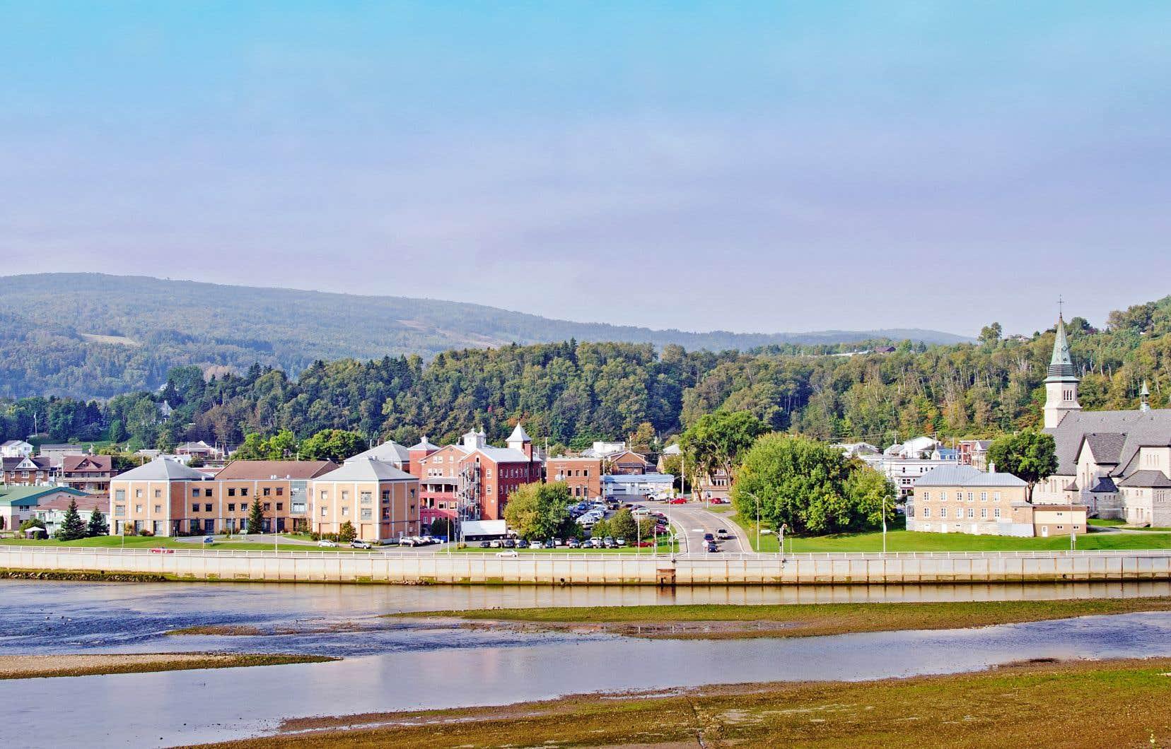 L'hôpital est situé au cœur de cette ville sise dans la région de Charlevoix.