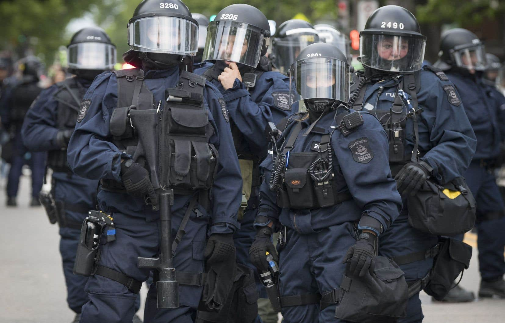 Amnistie internationale et la Ligue des droits et libertés ont à leur tour dénoncé les tactiques employées par la police lors du sommet du G7.