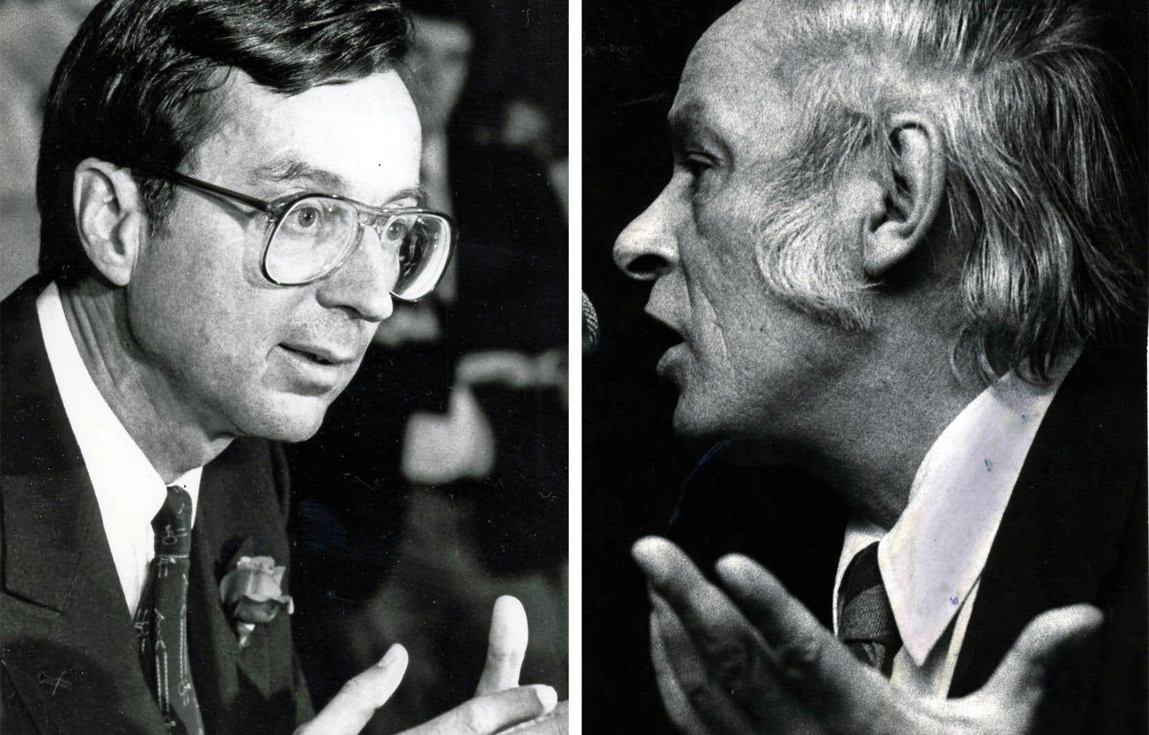 Lors des élections de 1970, il ressort que le marketing libéral a surtout été axé sur la raison, une coordination bien établie et un contrôle rigide et constant des présences de Robert Bourassa à la télévision. Celui du PQ a davantage joué la carte de la passion pour son projet.