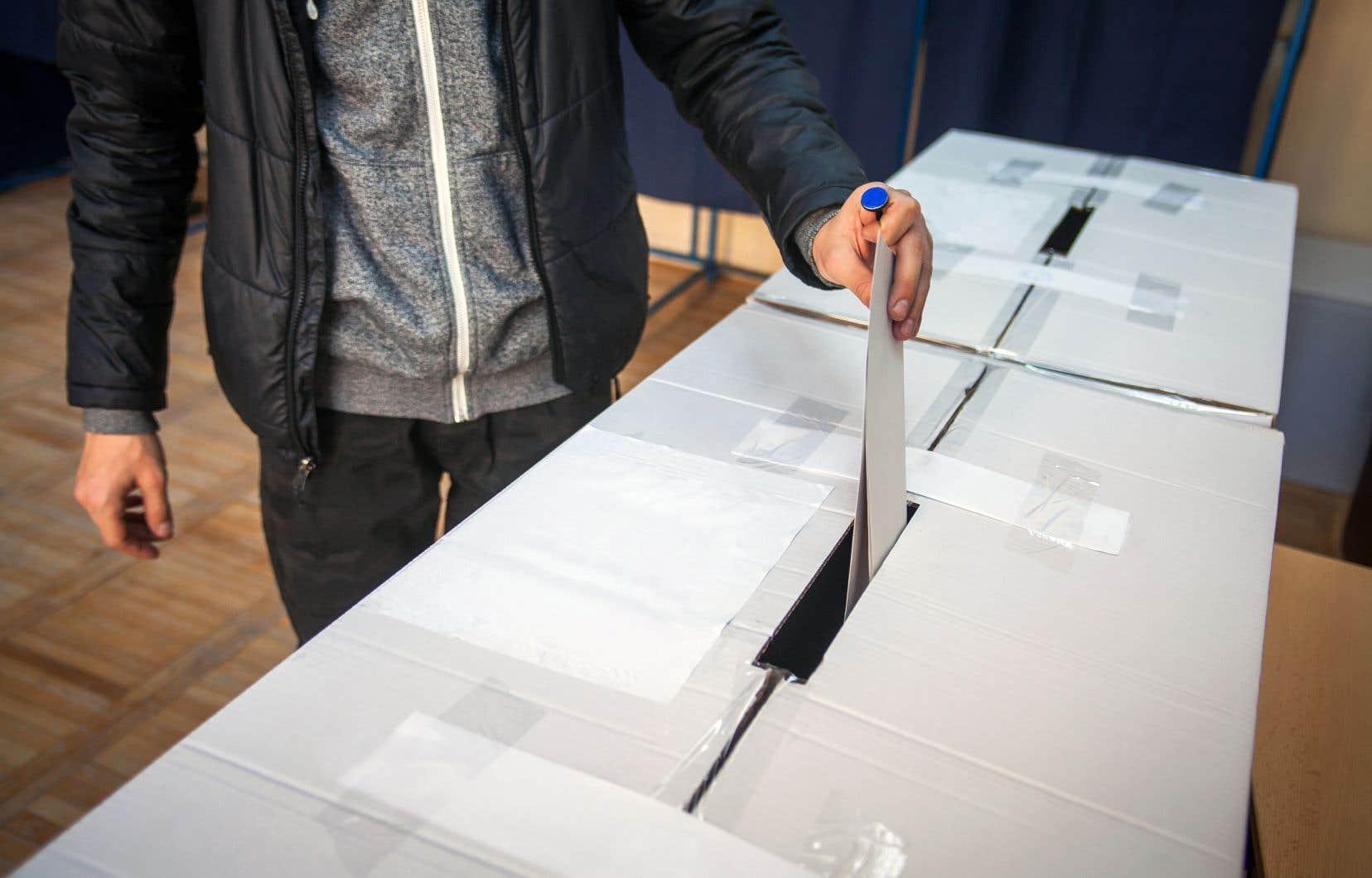 Seulement 40% des 18-34ans sont allés voter aux dernières élections provinciales.