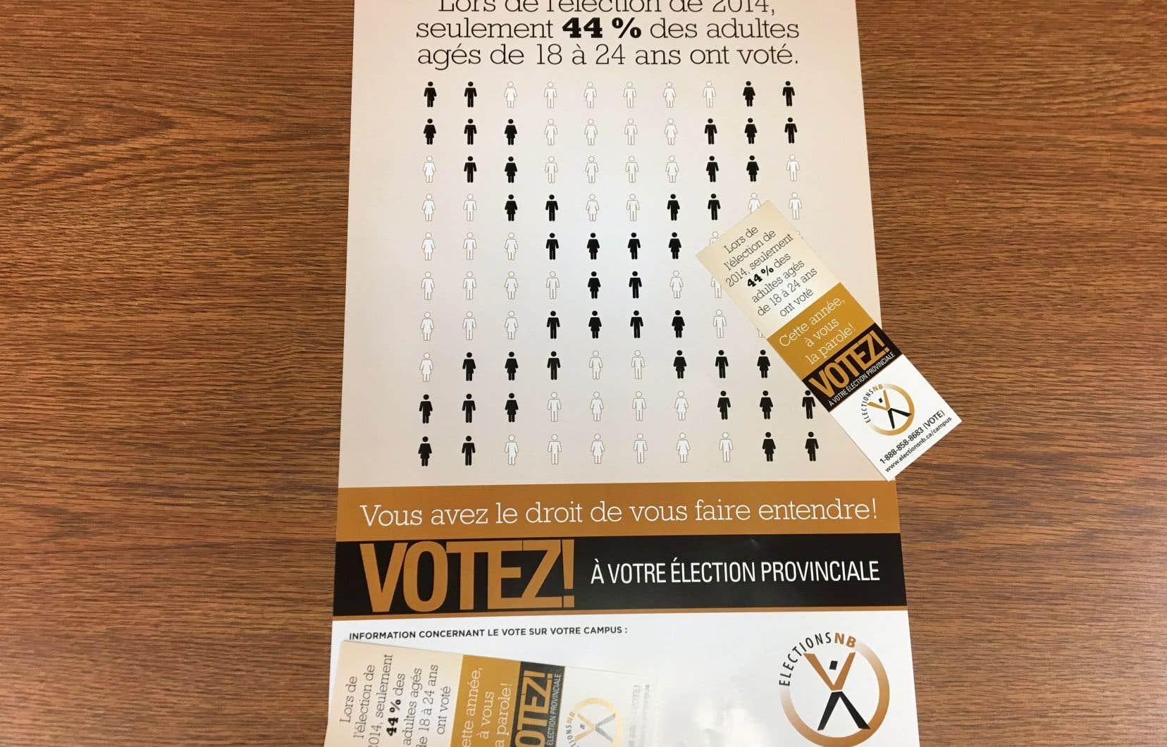 Les électeurs du Nouveau-Brunswick sont appelés aux urnes, lundi.