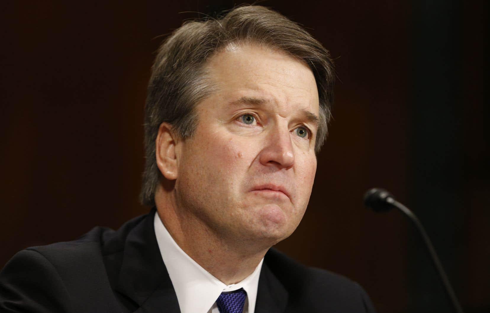 Le juge Brett Kavanaugh, candidat de Donald Trump à la Cour suprême des États-Unis