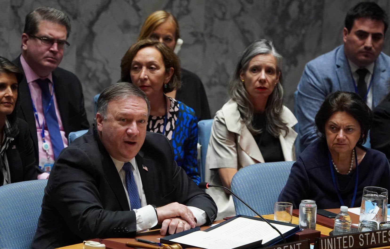 Le chef de la diplomatie américaine, Mike Pompeo